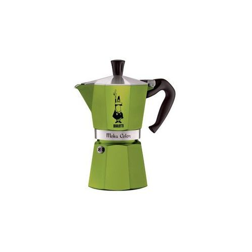 Bialetti moka color kawiarka 3 filiżanki 3 tz green marki Bialetti / kawiarki / mokka induction