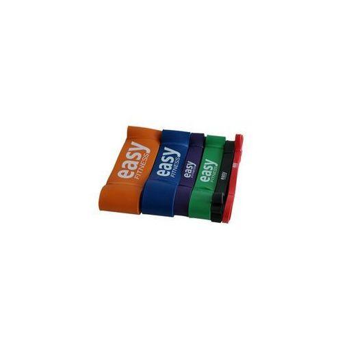 guma power band- zestaw, 6 sztuk marki Easy fitness