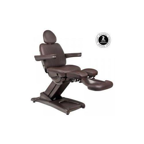 Fotel kosmetyczny elektr. azzurro 872s pedi-pro brązowy marki Vanity_a