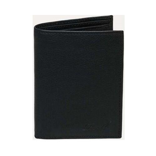 Portfel - trifold leather black black (black ) rozmiar: os marki Reell