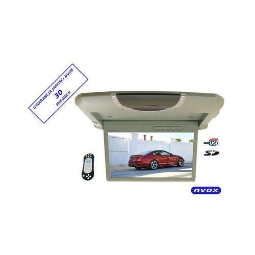 "NVOX RF 988 monitor podwieszany podsufitowy LCD 9"" cali USB SD IR FM"