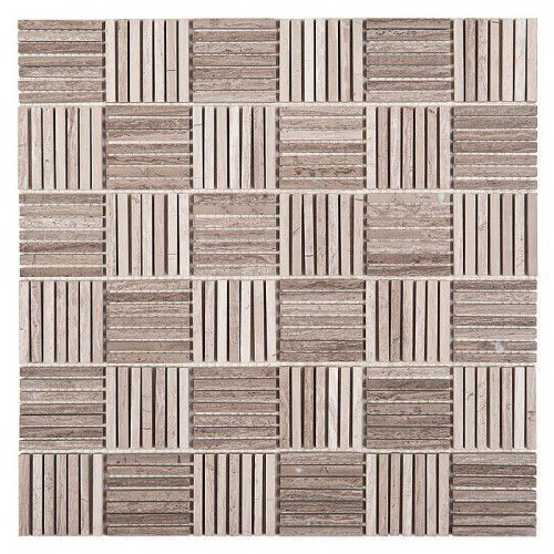 woodstone mozaika kamienna woodstone grey tatami 48 marki Dunin