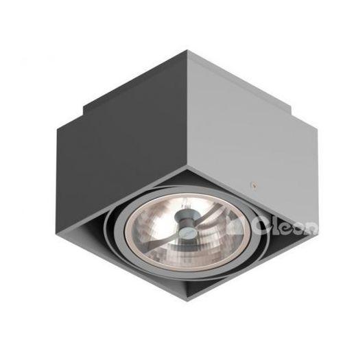 Lampa sufitowa tuz l1sh qr111, t019l1sh+ marki Cleoni