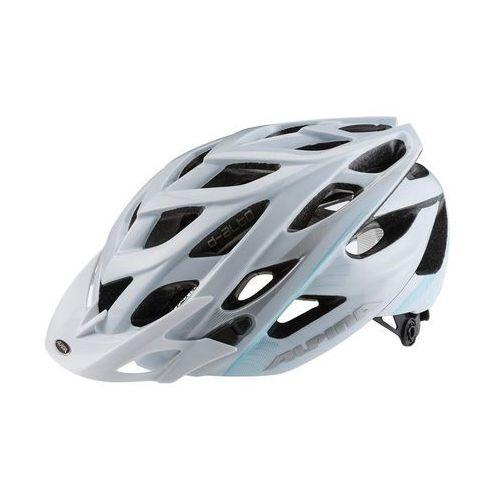 Alpina D-Alto Kask rowerowy niebieski/biały 52-57 cm 2018 Kaski rowerowe