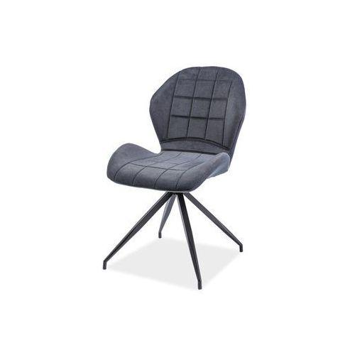 Krzesło - SIGNAL HALS II - grafit materiał - LOFT, Signal