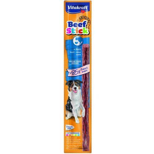 Vitakraft beef sticks - kabanos z sercem dla psa 12g (4008239231451)