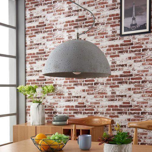 Lampa wisząca Jelin z betonowym kloszem (4251096525021)