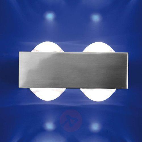 Top light 4 soczewki – lampa ścienna focus 150, niklowa