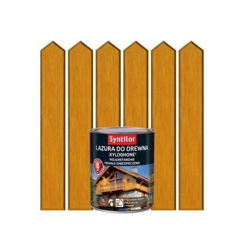 Lazura do drewna xylodhone hp 1 l dąb złocisty marki Syntilor