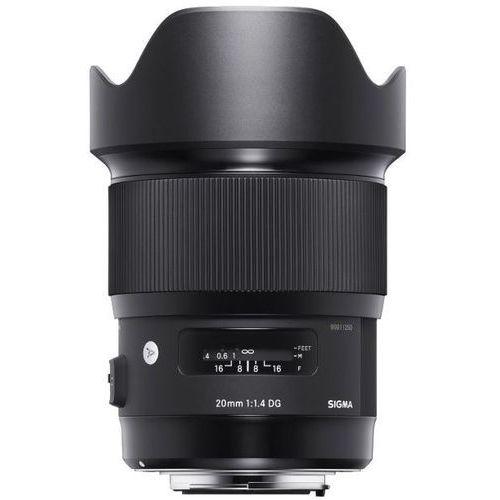 Sigma  a 20mm 1.4 a dg hsm canon - produkt w magazynie - szybka wysyłka! (0085126412548)
