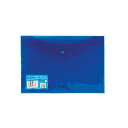 Teczka kopertowa a4 pozioma niebieska marki Concord