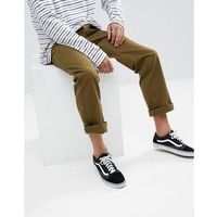fleet rigid carpenter chino in relaxed fit - green, Brixton