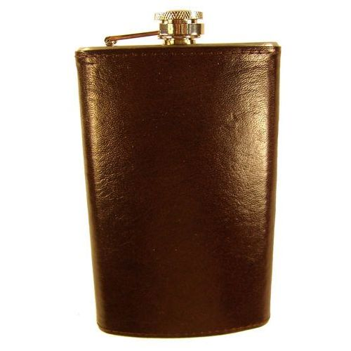 Piersiówka metalowa wykończona skórą naturalną p-10s - z kolekcji classic marki Tomi ginaldi. Tanie oferty ze sklepów i opinie.