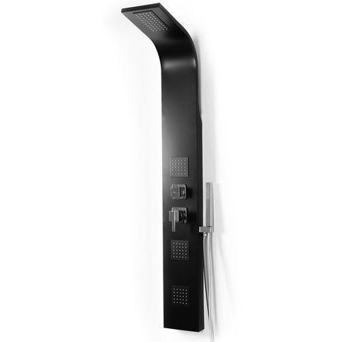 Panel prysznicowy aluminiowy w kolorze czarnym 9786 black marki Rea