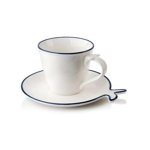 Filiżanka porto ryba porcelanowa do herbaty kawy marki Mondex