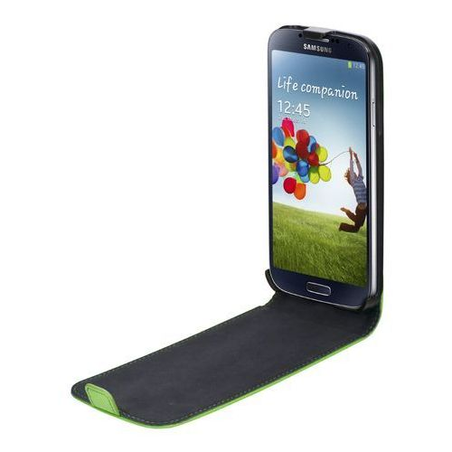 Pokrowiec XQISIT Pokrowiec Flipcover (Samsung Galaxy S4) Zielony (4029948005898)