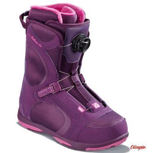 Buty snowboardowe galore pro boa purple 2018/2019 marki Head