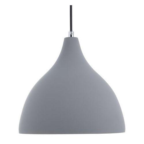 Beliani Lampa wisząca szara lambro (4260586355949)