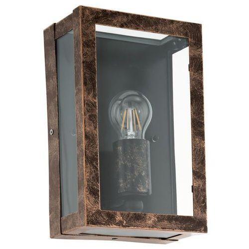Kinkiet lampa ścienna Eglo Alamonte 2 1x60W E27 miedź 96272, 96272