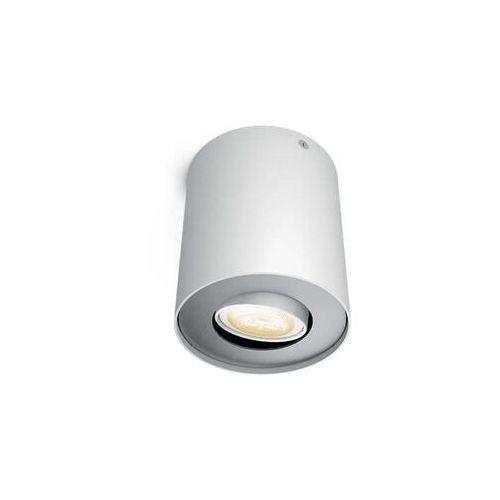 Philips 56330/31/P8 - LED Ściemnialne oświetlenie punktowe PILLAR HUE 1xGU10/5,5W, kolor Weiß