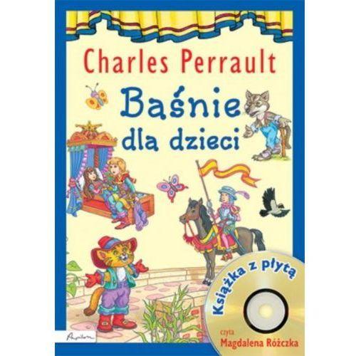 Baśnie dla dzieci charles perrault książka z płytą cd [perrault charles] marki Papilon