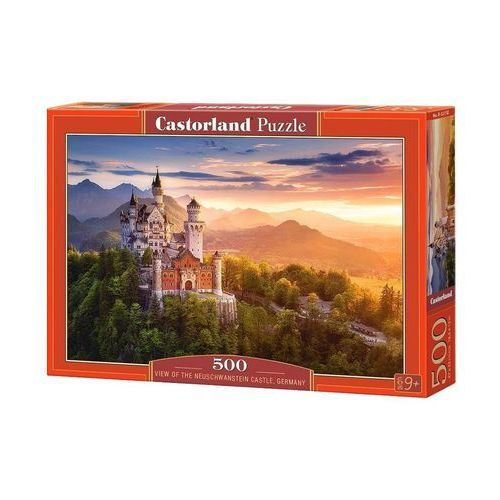Puzzle view of the neuschwanstein castle, germany 500 - castor marki Castorland