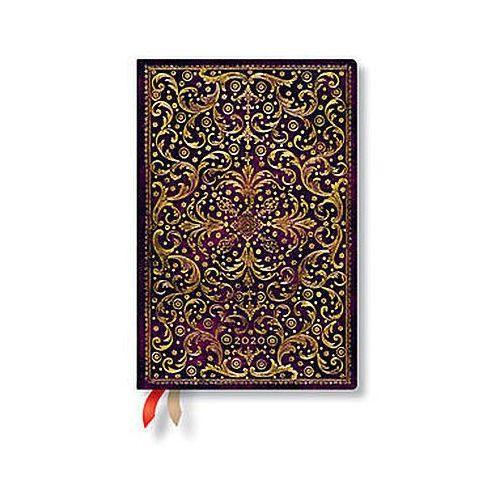 Paperblanks Kalendarz2020 książkowy mini aurelia 12m (9781439761229)