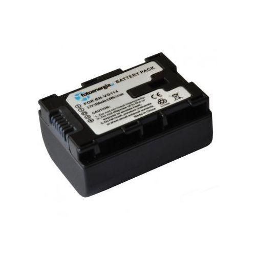 Akumulator bn-vg114 do jvc gz-mg980-b gz-mg980-r gz-mg980-s wyprodukowany przez Fotoenergia