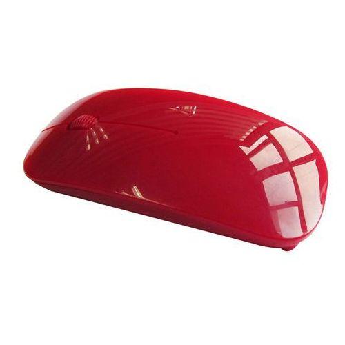 Mysz komputerowa bezprzewodowa (czerwona) marki Laptopshop