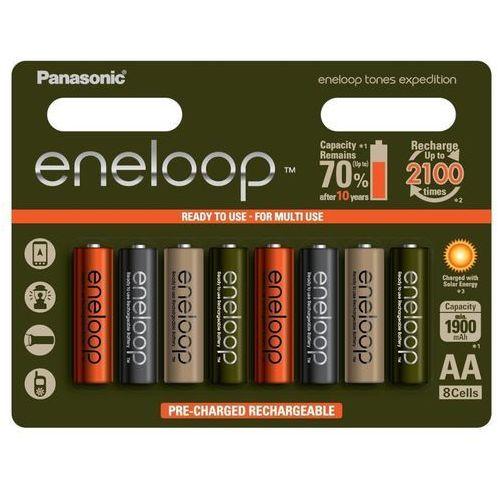 8 x akumulatorki Panasonic Eneloop Tones Expedition R6/AA 2000mAh (blister)