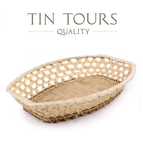 Bambusowy koszyk 24x17x6h cm marki Tin tours sp.z o.o.