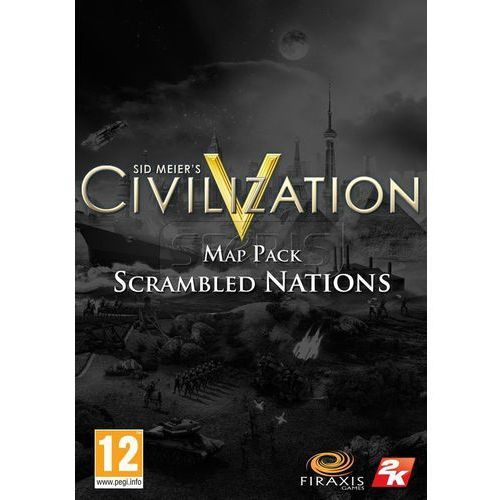 Civilization 5 Scrambled Nations Map Pack (komputerowa gra)