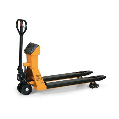 Wózek paletowy z wbudowaną wagą z możliwością legalizacji, 1500 kg/1 kg marki B2b partner