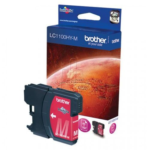 Tusz Brother LC1100HYM magenta
