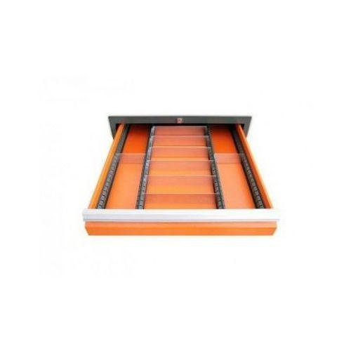 Wkład szuflady typ c do szuflad w wózkach wwt marki Malow