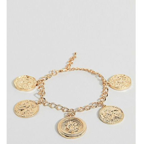 chunky chain coin bracelet - gold marki Liars & lovers