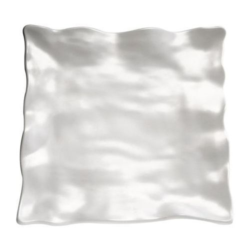 Półmisek kwadratowy z melaminy | biały | różne wymiary