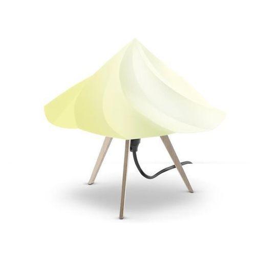 CHANTILLY-Lampa stojąca Trójnóg Drewno Wys.28cm (3663710058326)