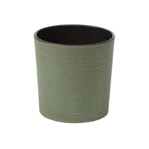 Doniczka plastikowa 25 cm zielona MALWA (5900119428434)