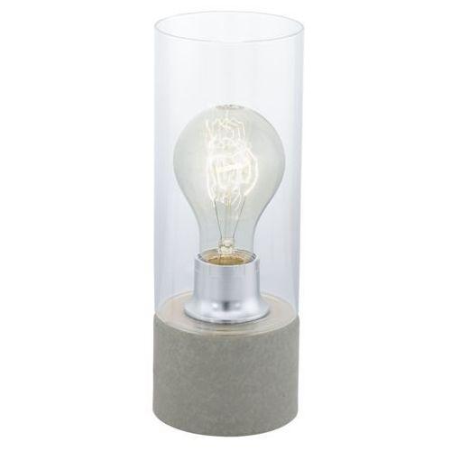 Eglo torvisco 1 lampa stołowa siwy, 1-punktowy - nowoczesny - obszar wewnętrzny - 1 - czas dostawy: od 8-12 dni roboczych (9002759945497)