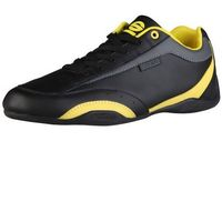 Buty Męskie Sneakersy Sparco Zandvoort Czarno Żółte, kolor czarny