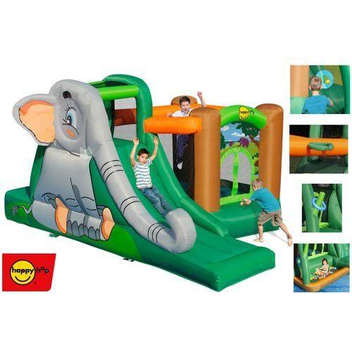 Dmuchany plac zabaw happy hop - jaskinia słonia marki Happyhop