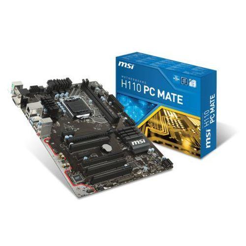 MSI H110 PC MATE (H110 2xPCI-E DDR4)