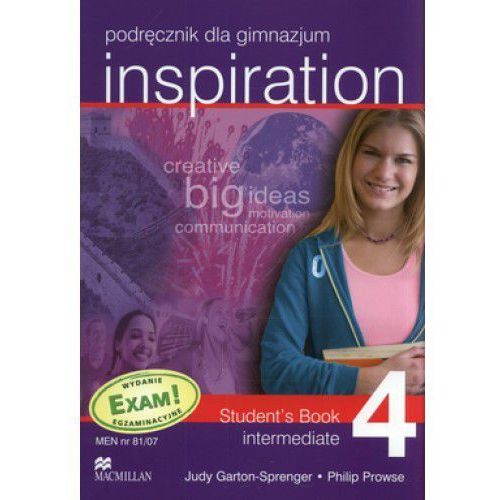 Inspiration 4 Intermediate Student`s Book, oprawa miękka