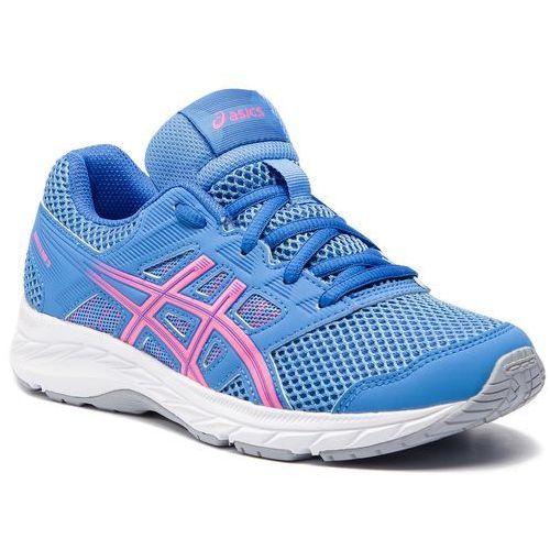 Asics Buty - contend 5 gs 1014a049 blue coast/hot pink 402