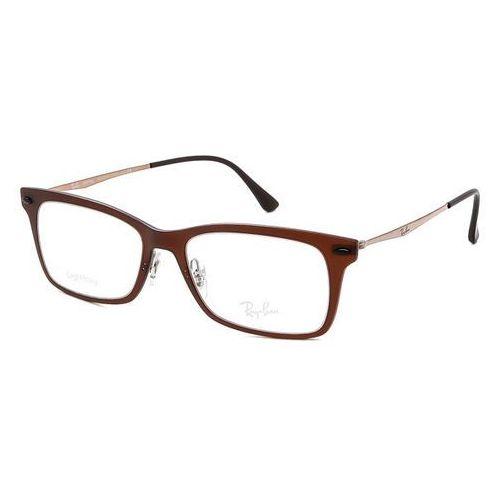 Ray-ban Okulary korekcyjne tech rx7039 light ray 5450