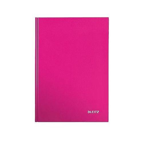 Leitz Brulion w kratkę a5 80k. wow, różowy 46281023