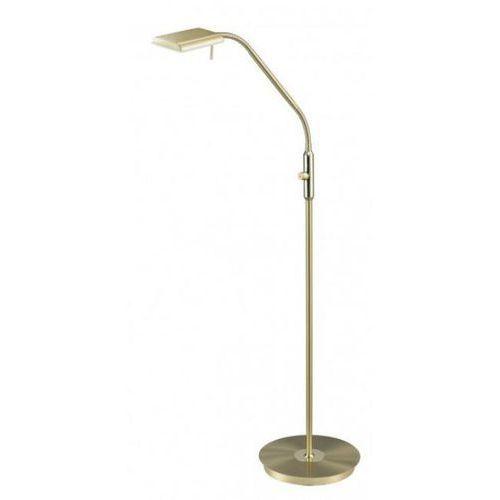 Trio Bergamo 420910108 lampa stojąca podłogowa 1x12W LED brązowa/biała, kolor Brązowy