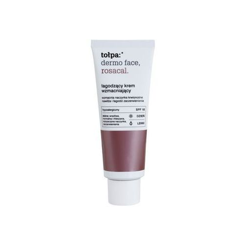 Tołpa Dermo Face Rosacal krem łagodzący na dzień przeciw zaczerwienieniom SPF 10 (Light) 40 ml