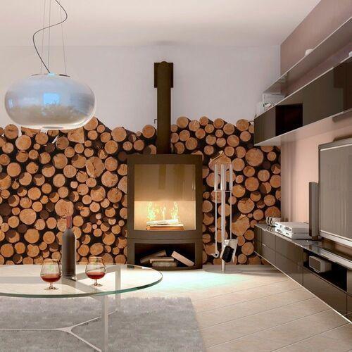 Artgeist Fototapeta - drewniane pale